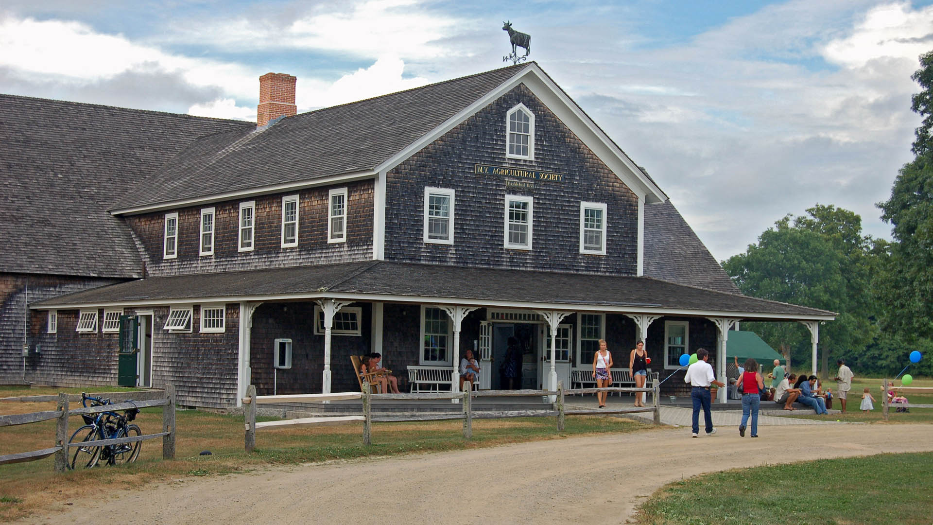 Agricultural Hall, West Tisbury, Martha's Vineyard