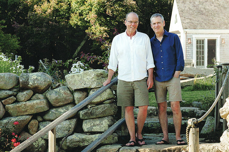 Russell Maloney and Jay Schmidt, Chilmark, Martha's Vineyard